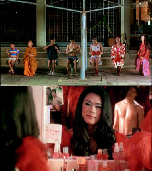 Avant l'opération, Nong Tum, au fil du temps. Puis après, elle se dit au revoir et remercie celui qu'il était autrefois...